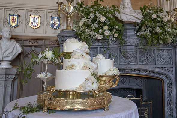 Princess Eugenie royal wedding Meghan and Harry chosen Claire Ptak to make their wedding cake (ImPrincess Eugenie royal wedding Meghan and Harry chosen Claire Ptak to make their wedding cake (Image Getty )age Getty )