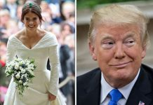 Princess Eugenie was congratulated by Donald Trump following her Royal Wedding Image GETTY PA