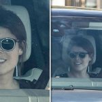 Princess Eugenie wedding Bride to be is all smiles as she arrives at Buckingham Palace Image Constant Media
