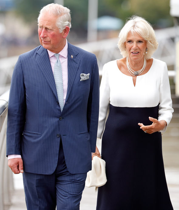 Princess Eugenie wedding Camilla Parker Bowles Duchess of Cambridge is married to Prince Charles Image GETTY