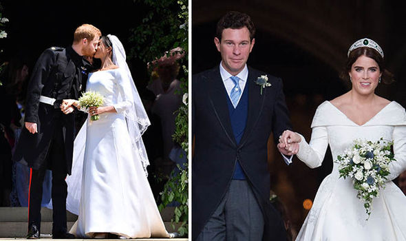 Princess Eugenie wedding How did Meghan and Eugenies wedding compare Image Getty