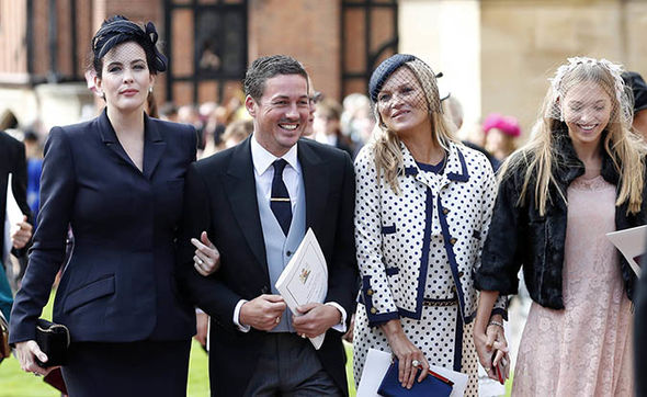 Princess Eugenie wedding Kate Moss and Liv Tyler were some of the famous faces at Eugenies wedding Image Getty