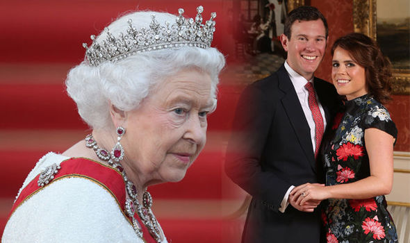Princess Eugenie wedding Queen Elizabeth II will see the royal marry Jack Brooksbank on October 12 Image GETTY