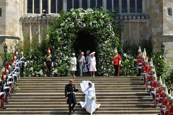 Princess Eugenie wedding The ceremony will take place in the same venue as Prince Harry and Meghan (Image GETTY)