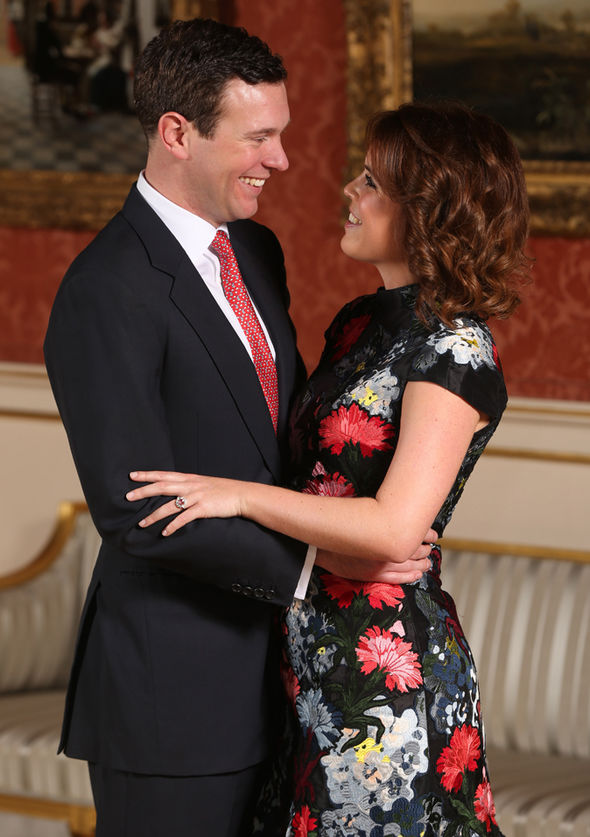 Princess Eugenie wedding The princess isnt a full time working royal Image GETTY