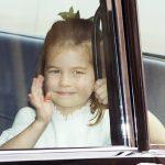 Princess Eugenie wedding live Princess Charlotte waved to royal fans Image EPA