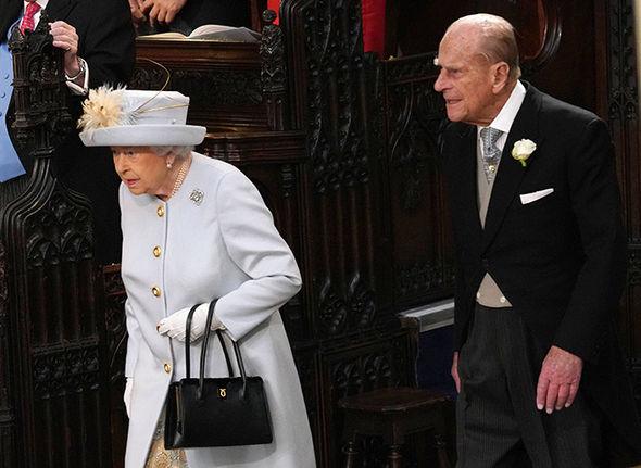 Princess Eugenie wedding live Princess Beatrice and Sarah Ferguson waved to crowds Image GETTY