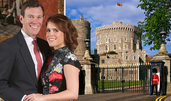 Princess Eugenie will marry Jack Brooksbank at St George's Chapel Windsor Castle Image GETTY