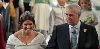 Princess Eugenies dad Prince Andrew had everyone in tears with his father of the bride speech Photo C GETTY