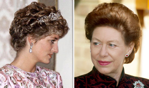 Princess Margaret held a bitter grudge against the People's Princess Image GETTY