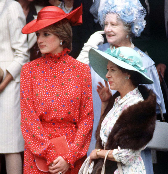 Princess Margaret was unforgiving after Diana and Charles broke up Image GETTY