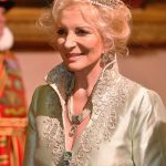 Princess Michael of Kent during the State Banquet at Buckingham Palace Photo C PA