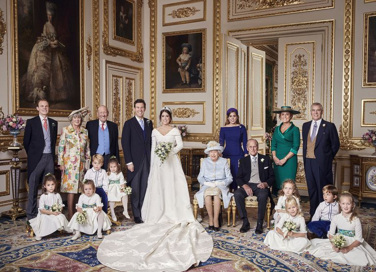 Queen Elizabeth and Prince Philip are featured in both of 2018s royal weddings Photo (C) Alex Bramall/MEGA