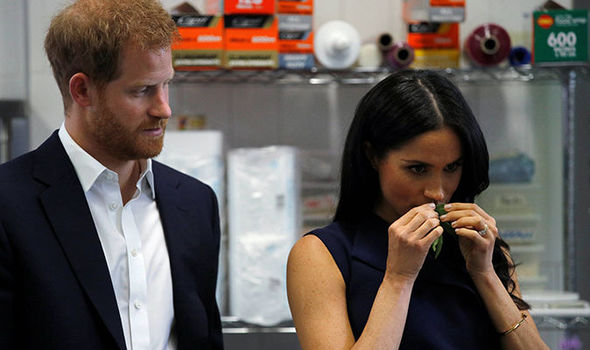 Royal Baby One food was advised against for pregnant Meghan Image PA