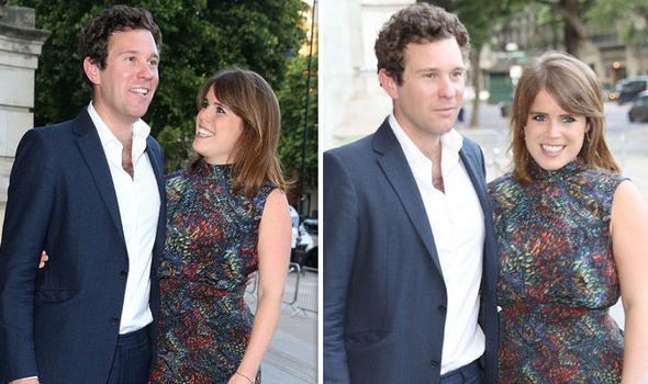 Royal Wedding Princess Eugenie and Jack Brooksbank will marry on October 12 Image GETTY
