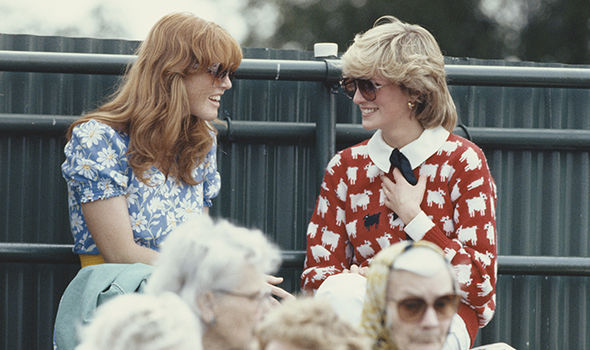 Royal family news Princess Diana and Sarah Ferguson at the Guards Polo Club Windsor June 1983 Image GETTY