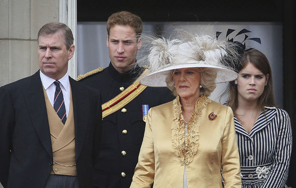 Royal news Camillas relationship with Prince Andrew and Sarah Ferguson is strained Image GETTY