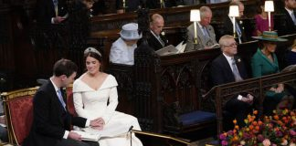 Royal wedding Members of the royal family and a host of A list celebrities watched the ceremony Image GETTY