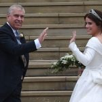 Royal wedding Princess Eugenie was wearing a dress by designer Peter Pilotto Image GETTY