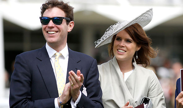 Royal wedding Princess Eugenie will marry her fiance Jack Brooksbank on Friday October 12 Image GETTY