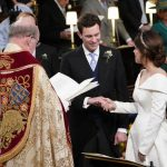 Royal wedding highlights Eugenie and Jack exchanged vows in St Georges Chapel Image GETTY