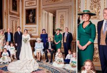 Sarah Ferguson and Prince Andrew are closer than ever in Princess Eugeines official wedding picture Image GETTY