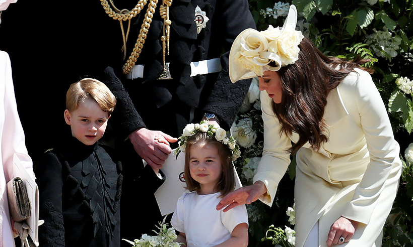 See the adorable family photo Prince William and Kate Middleton sent to fans in their thank you card Photo C GETTY