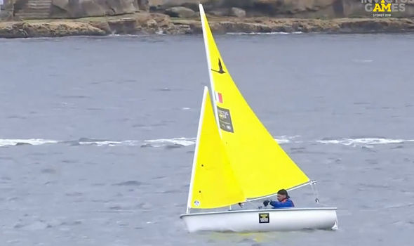 Sydney Harbour provides a great backdrop to the sailing competition Image ABC Tv ivew