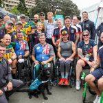 Team Australia and Team UK unite at the Invictus Games Image getty twitter
