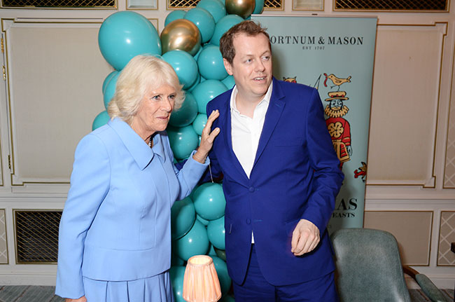 The Duchess of Cornwall supported her son Tom at his new cookbook launch Photo C GETTY IMAGES