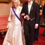 The Duchess of Cornwall walks with His Excellency Mr Stef Blok Photo C PA