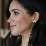 The Duchess of Sussex sported a pair of earrings that belonged to Princess Diana as she joined husband Prince Harry on the first day of their Australian royal tour in Sydney