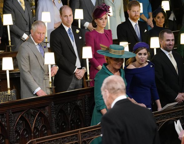 The Duchess of York was anticipating a showdown with Prince Philip Image PA