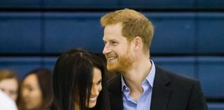 "The Duke of Sussex is ""very protective"" over his wife. Source Getty"