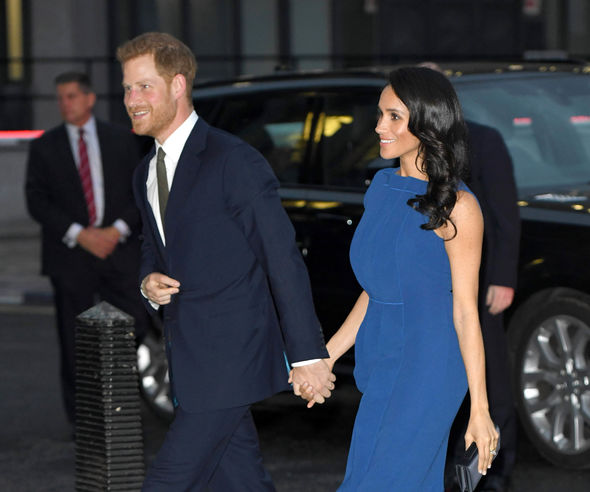 The Prince married Meghan this year Image GETTY