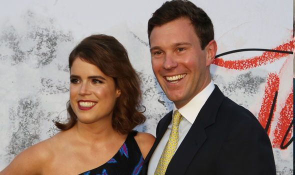 """Jack Brooksbank has opened up about feeling """"terrified"""" of marrying Princess Eugenie Image Getty"""
