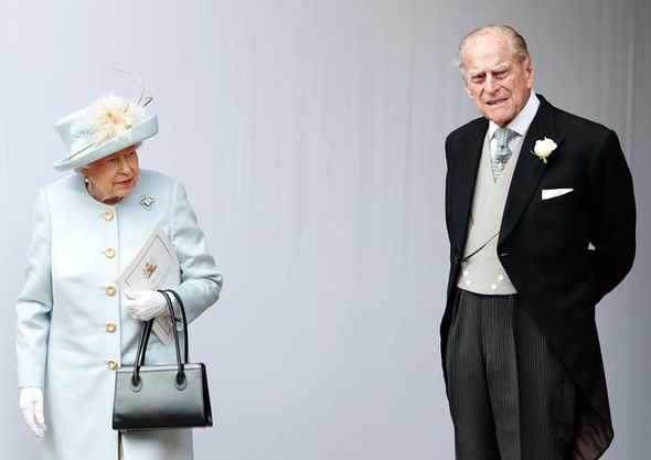 The Queen and Prince Philip pictured earlier this year apparently had doubts over Charles Image GETTY