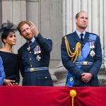 The Queen and the Royal Family appear on Buckingham Palaces balcony for Trooping the Colour Image WIREIMAGE