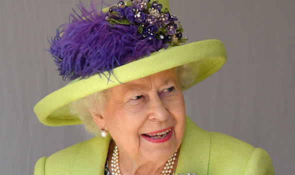 The Queen fell in love with Mr Brooksbank and endorsed his engagement to her granddaughter Image GETTY