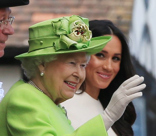 The Queen is said to be delighted with the news Image PA
