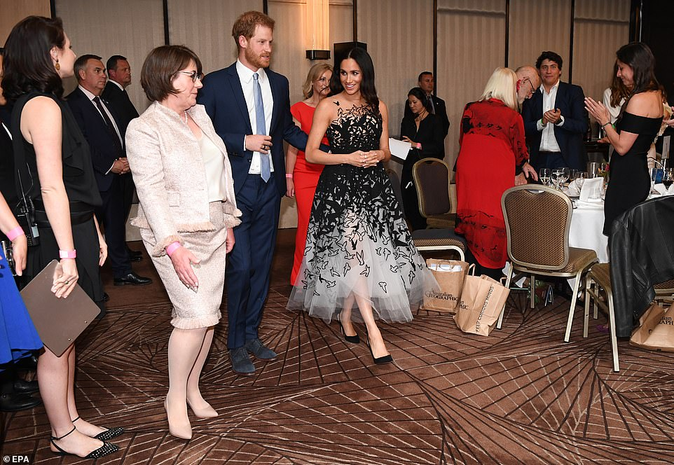 The Queen was honoured with an award for conservation for her initiative to highlight the plight of the worlds forests