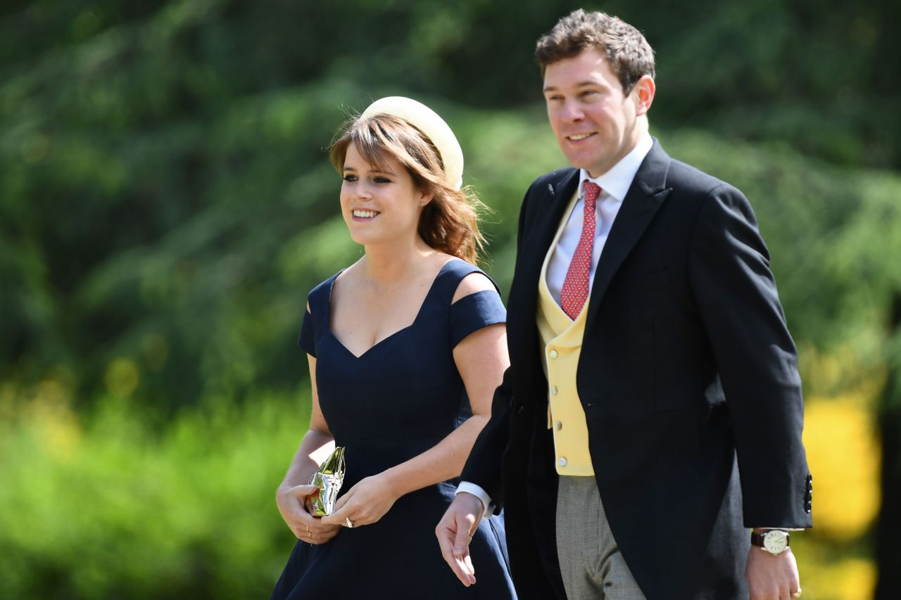 The invitations sent out earlier this summer by Eugenie's parents, the Duke of York and his ex-wife Sarah Ferguson read Photo (C) GETTY