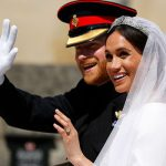 The last time the Duchess of Sussex wore a tiara was for her wedding Image GETTY