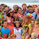 The mum to be looked in her absolute element during a visit to Bondi Beach in Sydney Meghan a devoted yogi met a group of locals who have experienced Photo C GETTY