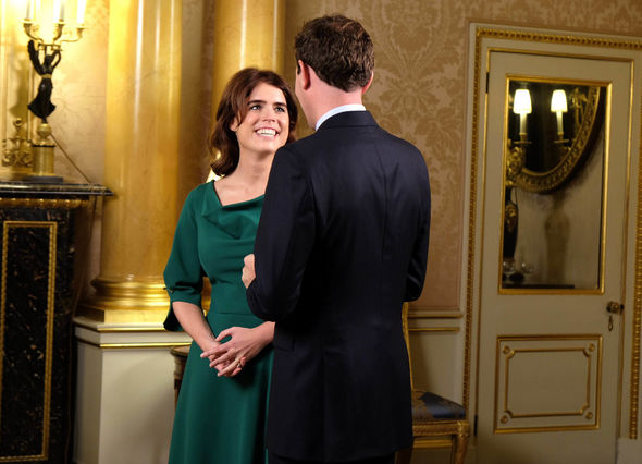 The pair revealed that they were feeling nervous ahead of their royal wedding Image PA