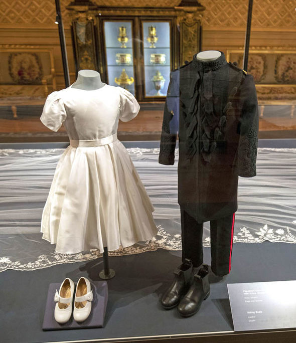 The pairs outfits included adorable personal touches that nobody noticed on the big day Image PA