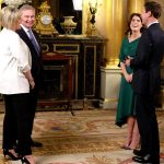 The royal couple discussed the moment they first met Image PA