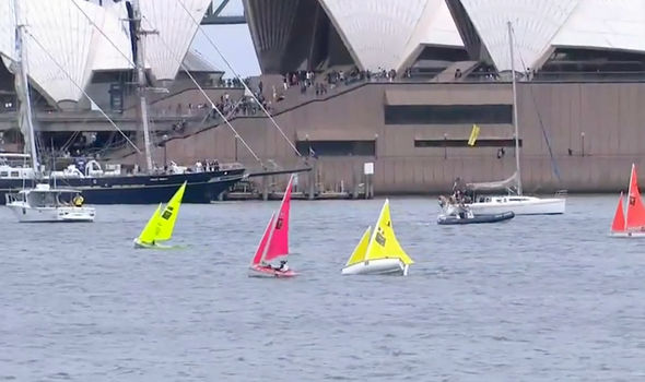 The sailing has now begun Image ABC TV iview