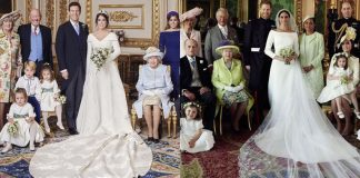 The second royal wedding of 2018 had so much in common with the first From the idyllic ceremony setting of St Georges Chapel in Windsor Castle Photo C Alex Bra mall MEGA