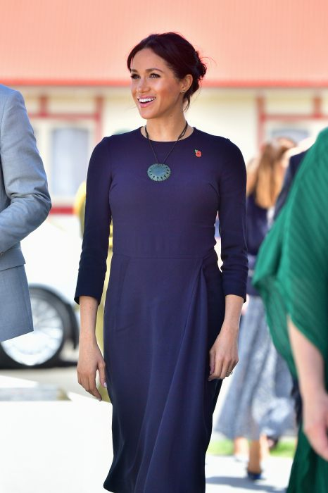 The special necklace was a gift to the Duchess Photo C GETTY